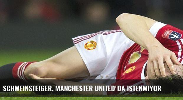 Schweinsteiger, Manchester United'da istenmiyor