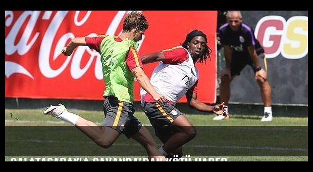 Galatasaray'a Cavanda'dan kötü haber