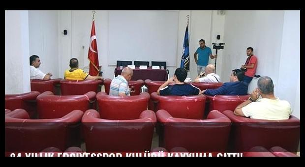 84 yıllık Erciyesspor kulübü kayyuma gitti!