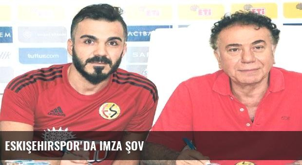 Eskişehirspor'da imza şov