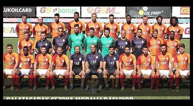 Galatasaray sezona moralli başlıyor