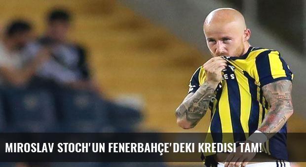 Miroslav Stoch'un Fenerbahçe'deki kredisi tam!
