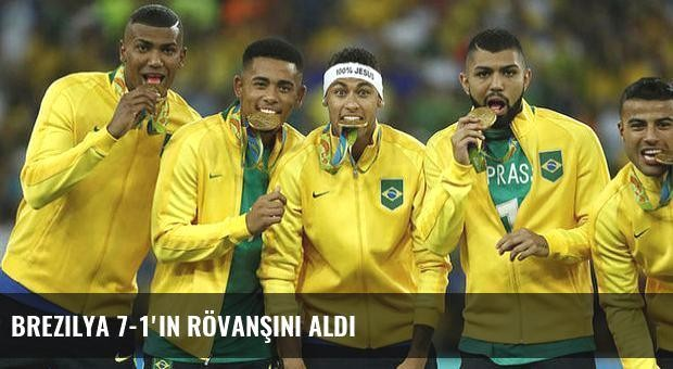 Brezilya 7-1'in rövanşını aldı