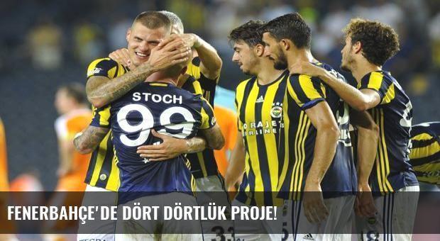 Fenerbahçe'de dört dörtlük proje!