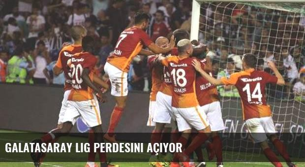 Galatasaray lig perdesini açıyor