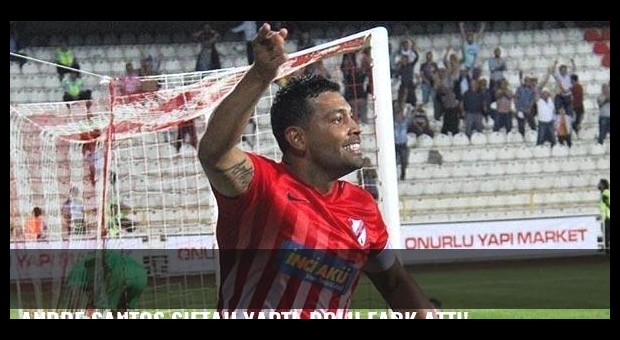 Andre Santos siftah yaptı, Bolu fark attı!