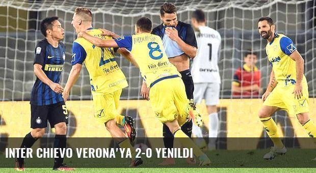 Inter Chievo Verona'ya 2-0 yenildi