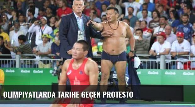 Olimpiyatlarda tarihe geçen protesto