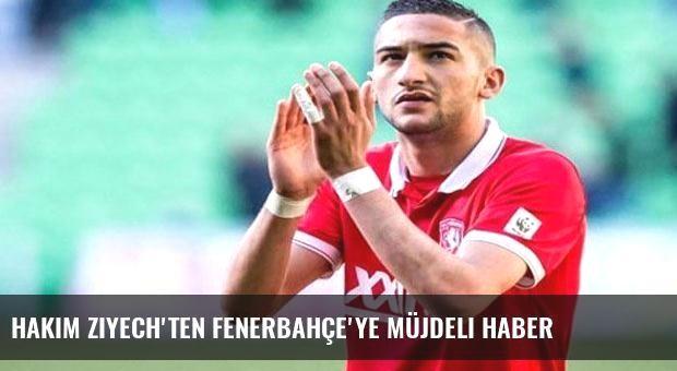 Hakim Ziyech'ten Fenerbahçe'ye müjdeli haber
