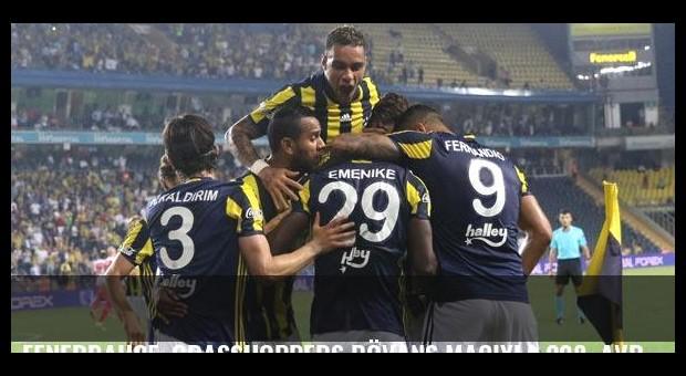 Fenerbahçe, Grasshoppers rövanş maçıyla 208. Avrupa sınavına çıkacak
