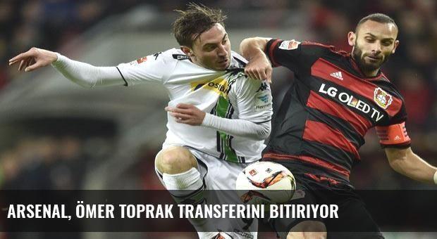 Arsenal, Ömer Toprak transferini bitiriyor