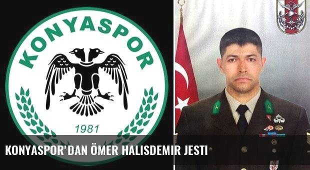 Konyaspor'dan Ömer Halisdemir jesti