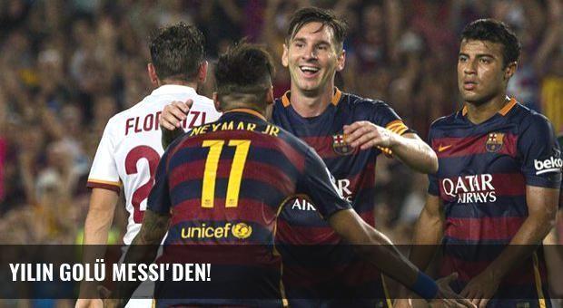 Yılın golü Messi'den!