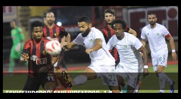 Eskişehirspor-Şanlıurfaspor: 1-1