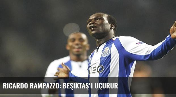 Ricardo Rampazzo: Beşiktaş'ı uçurur