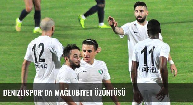Denizlispor'da mağlubiyet üzüntüsü