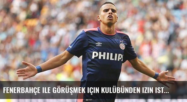 Fenerbahçe ile görüşmek için kulübünden izin istedi