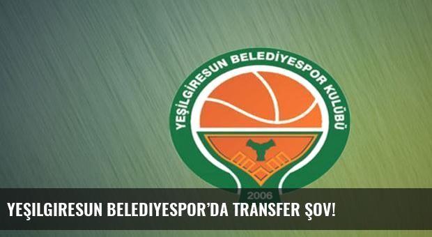 Yeşilgiresun Belediyespor'da transfer şov!