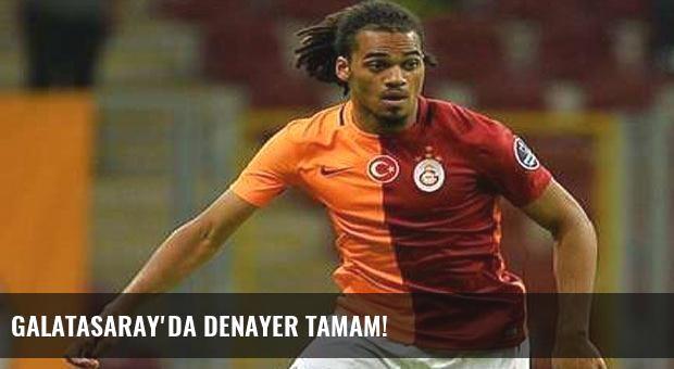 Galatasaray'da Denayer tamam!
