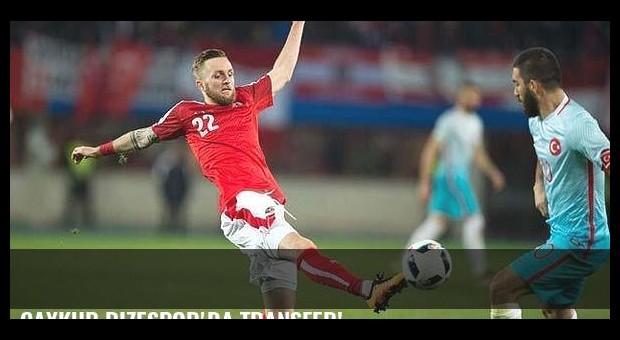 Çaykur Rizespor'da transfer!