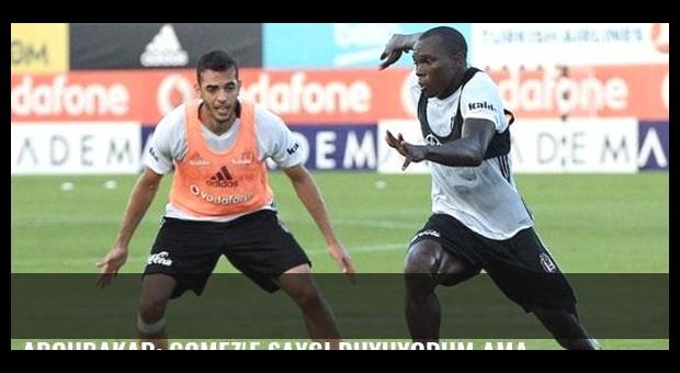 Aboubakar: Gomez'e saygı duyuyorum ama...