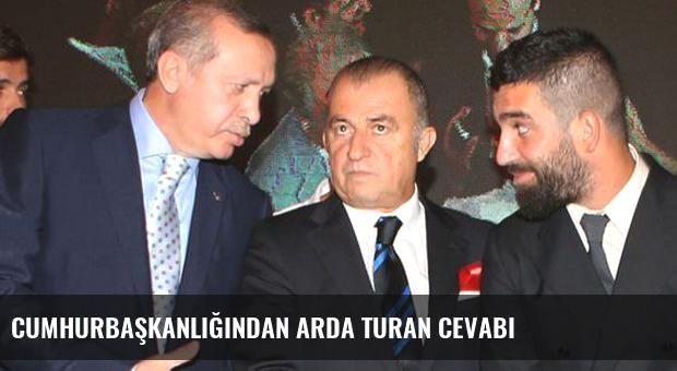 Cumhurbaşkanlığından Arda Turan cevabı