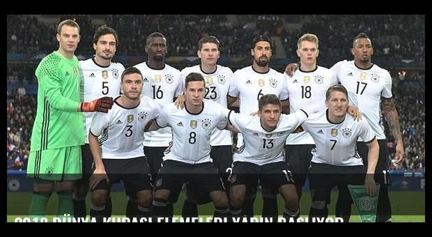 2018 Dünya Kupası Elemeleri yarın başlıyor