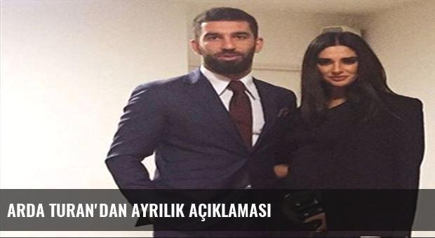 Arda Turan'dan ayrılık açıklaması