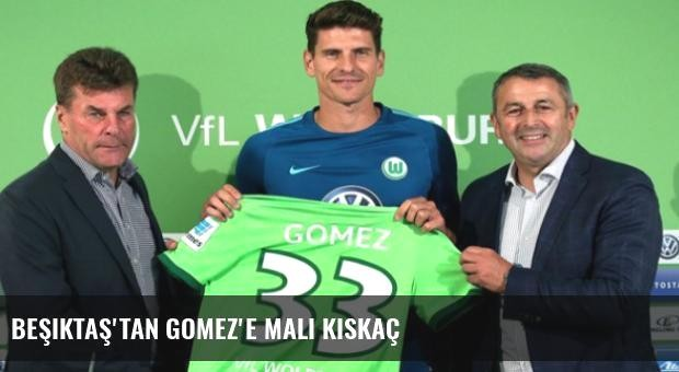 Beşiktaş'tan Gomez'e Mali Kıskaç