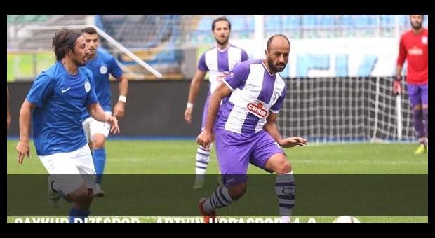 Çaykur Rizespor - Artvin Hopaspor: 4-2