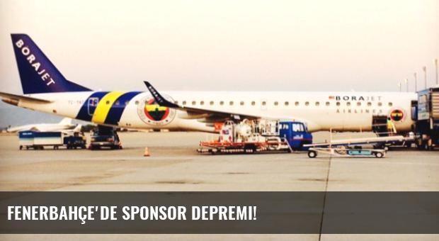 Fenerbahçe'de Sponsor Depremi!