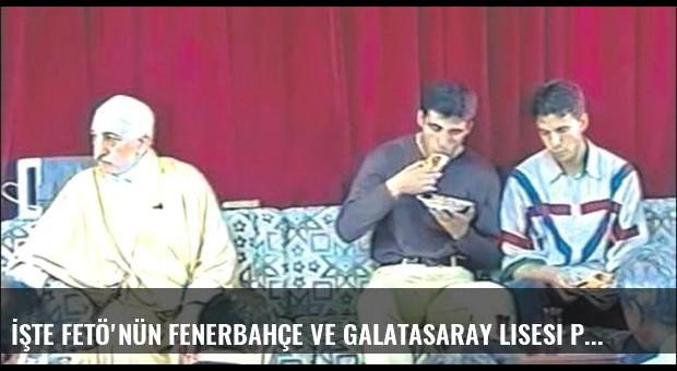 İşte FETÖ'nün Fenerbahçe ve Galatasaray Lisesi planları