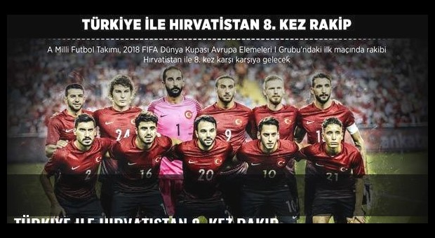 Türkiye ile Hırvatistan 8. kez rakip