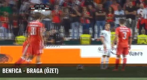 Benfica - Braga (Özet)