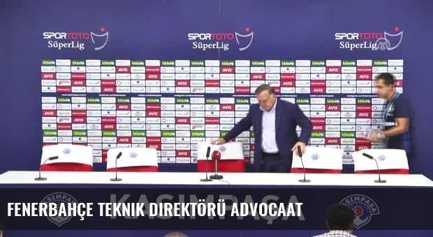 Fenerbahçe Teknik Direktörü Advocaat