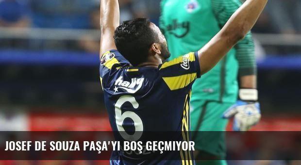 Josef de Souza Paşa'yı boş geçmiyor