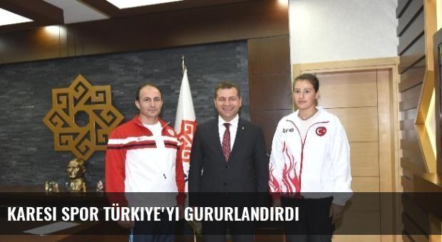 Karesi Spor Türkiye'yi Gururlandırdı