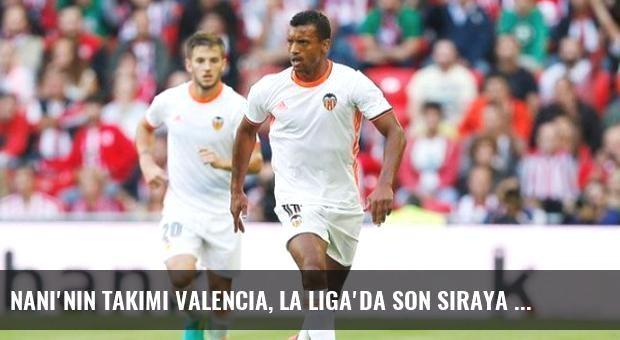 Nani'nin Takımı Valencia, La Liga'da Son Sıraya Demir Attı