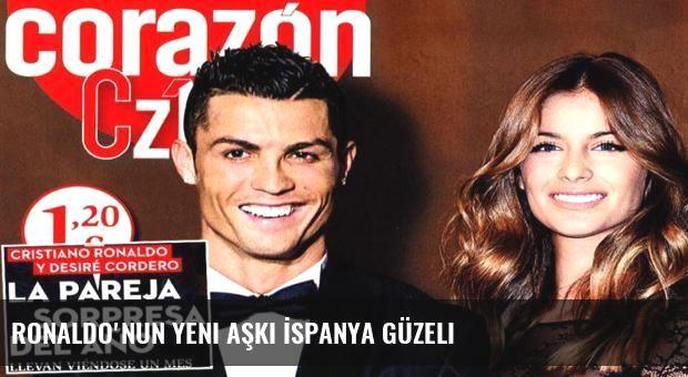 Ronaldo'nun yeni aşkı İspanya güzeli