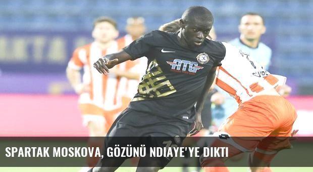 Spartak Moskova, gözünü Ndiaye'ye dikti