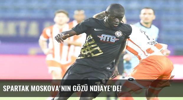 Spartak Moskova'nın gözü Ndiaye'de!