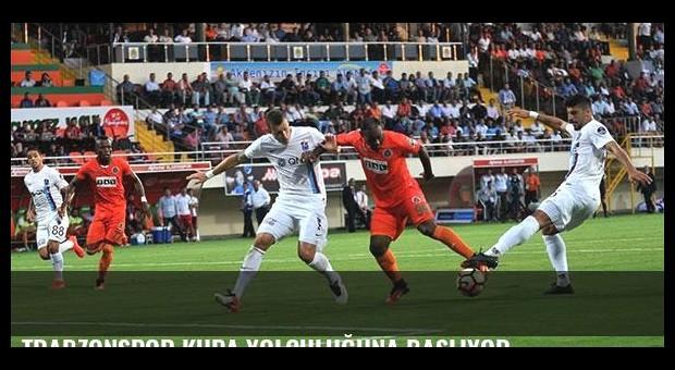 Trabzonspor kupa yolculuğuna başlıyor