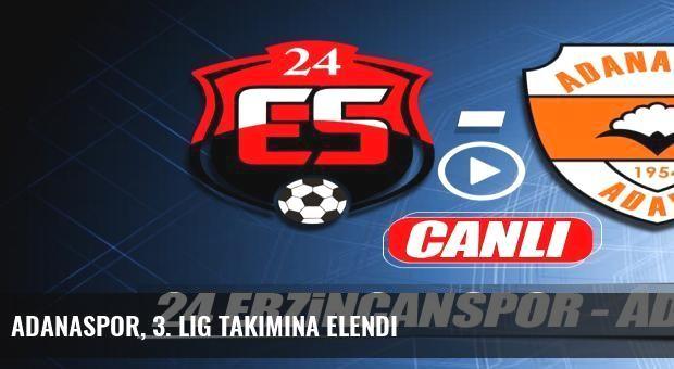 Adanaspor, 3. Lig takımına elendi