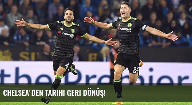 Chelsea'den tarihi geri dönüş!