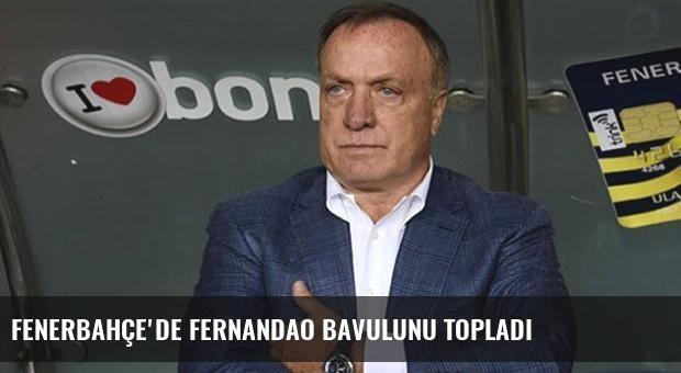 Fenerbahçe'de Fernandao Bavulunu Topladı