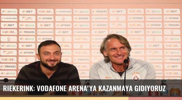 Riekerink: Vodafone Arena'ya Kazanmaya gidiyoruz