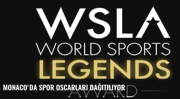 Monaco'da Spor Oscarları dağıtılıyor