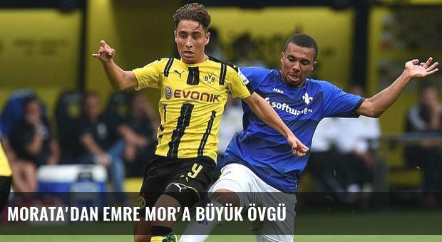 Morata'dan Emre Mor'a büyük övgü