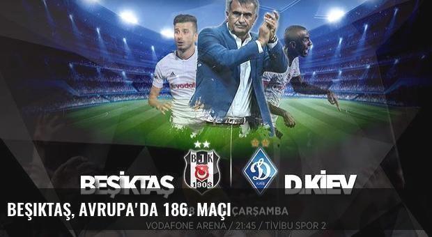 Beşiktaş, Avrupa'da 186. maçı