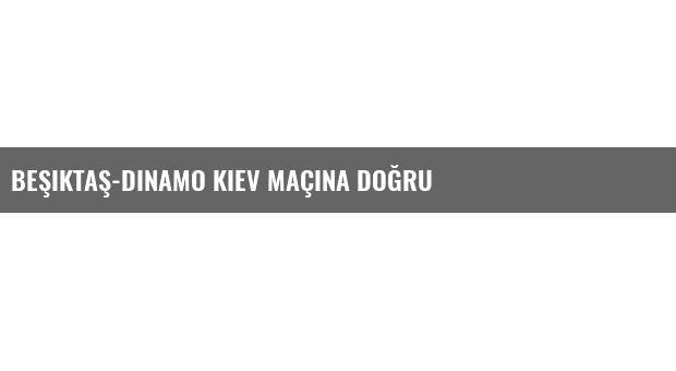 Beşiktaş-Dinamo Kiev Maçına Doğru